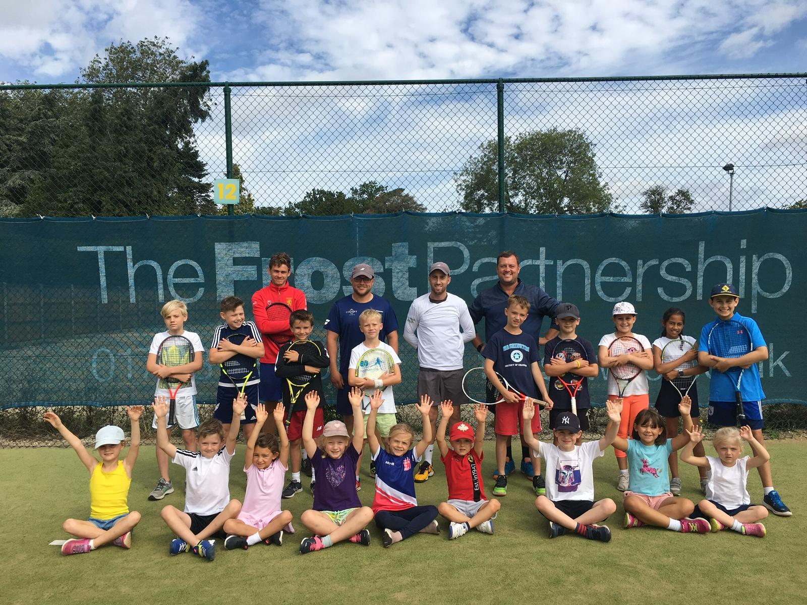 Court18 tennis coaching squad